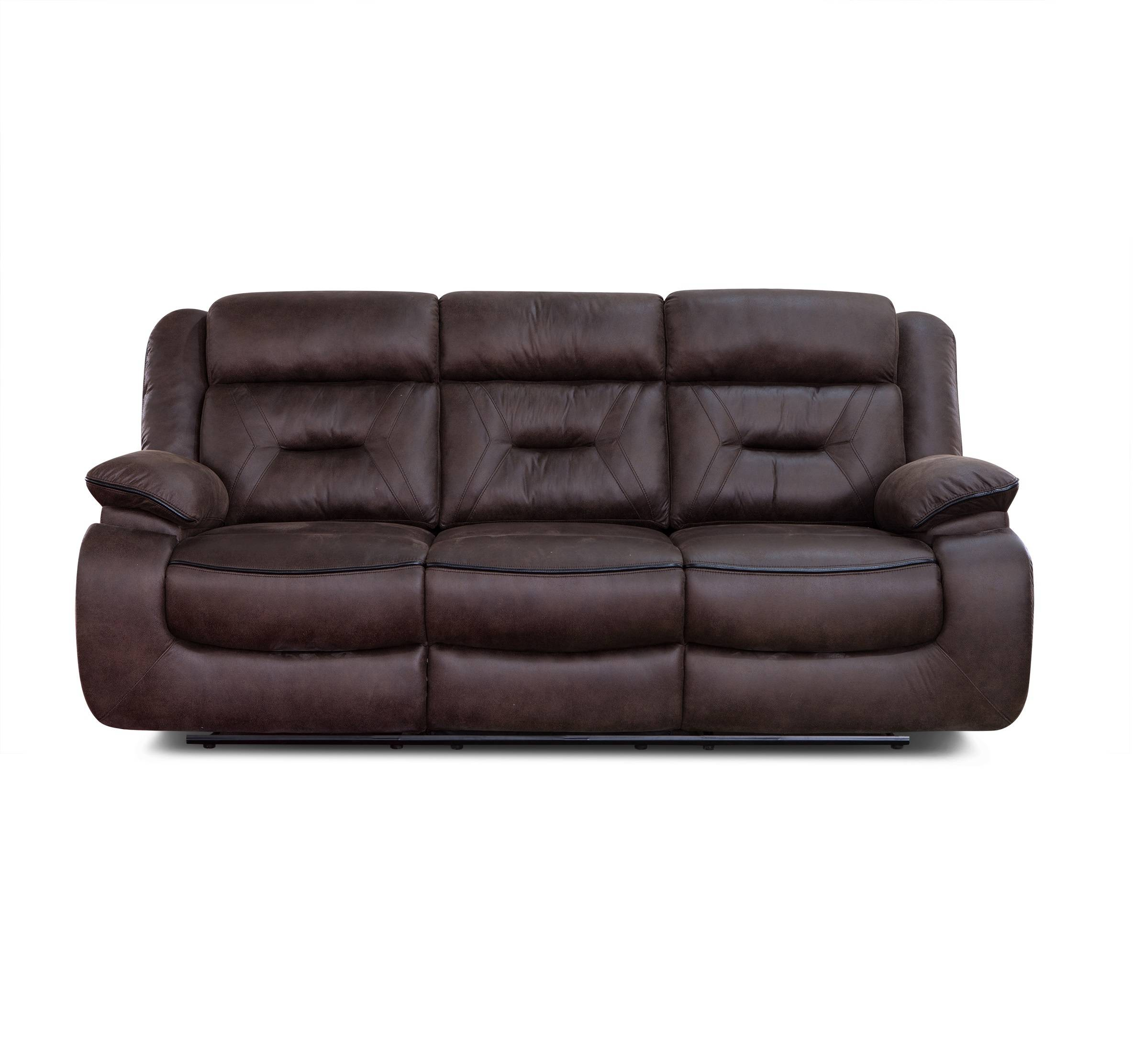 Home cinema leather recliner relax 3 seater sofa electric