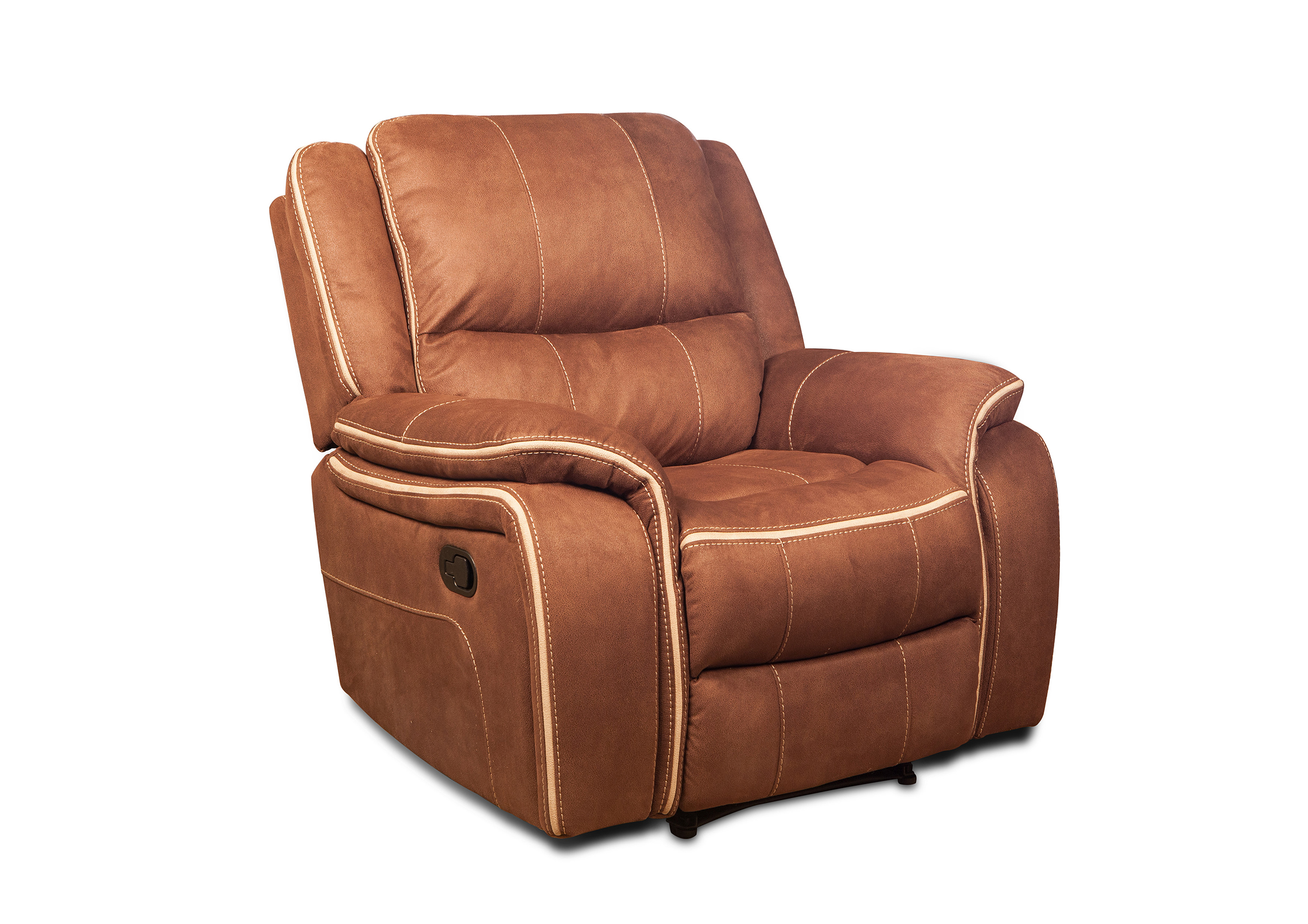 Fashion style soft fabric 6 seat 3+2+1 zero gravity recliner