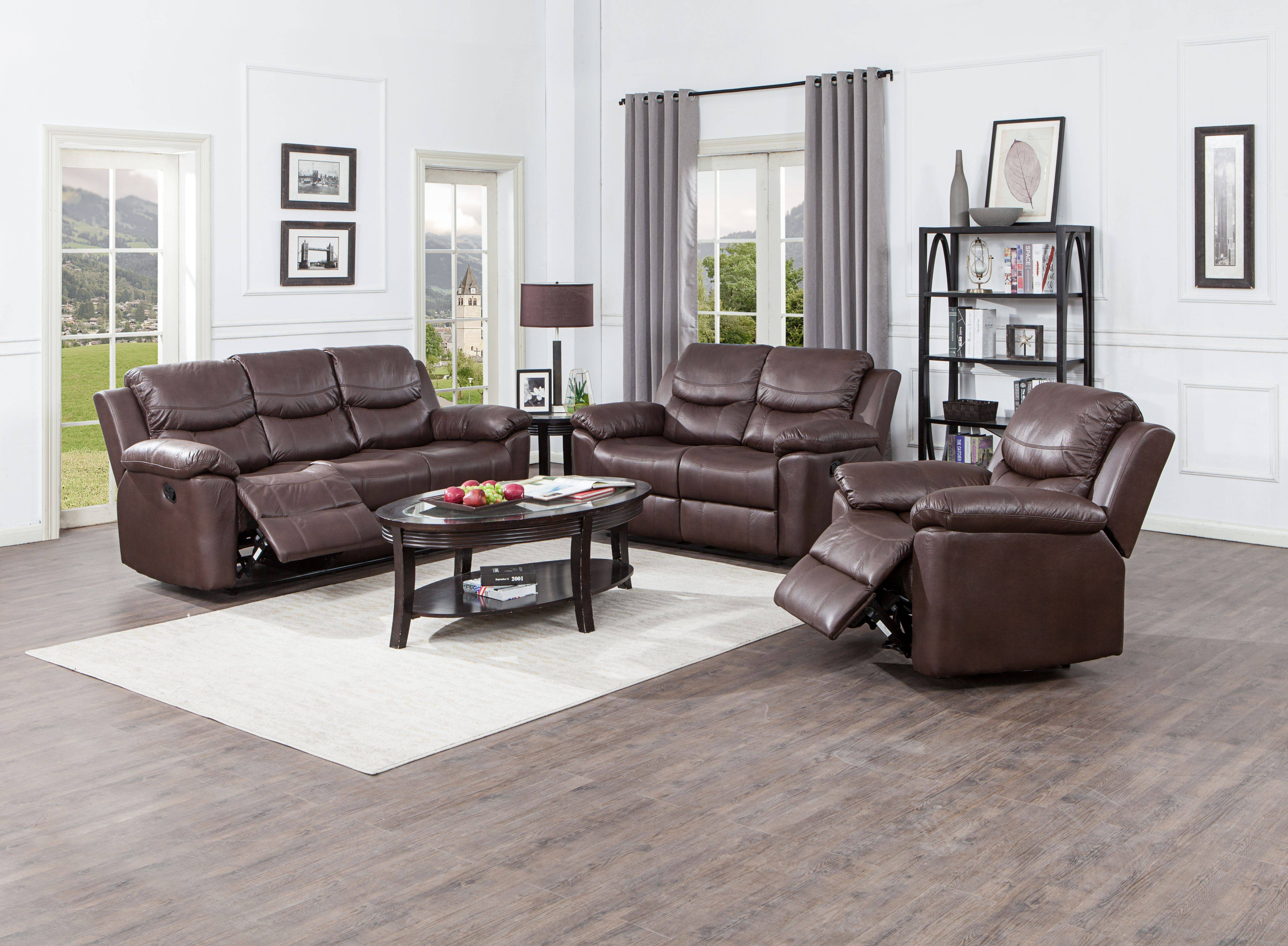 China OEM China Sectional Leather Rocker loveseat Ready to