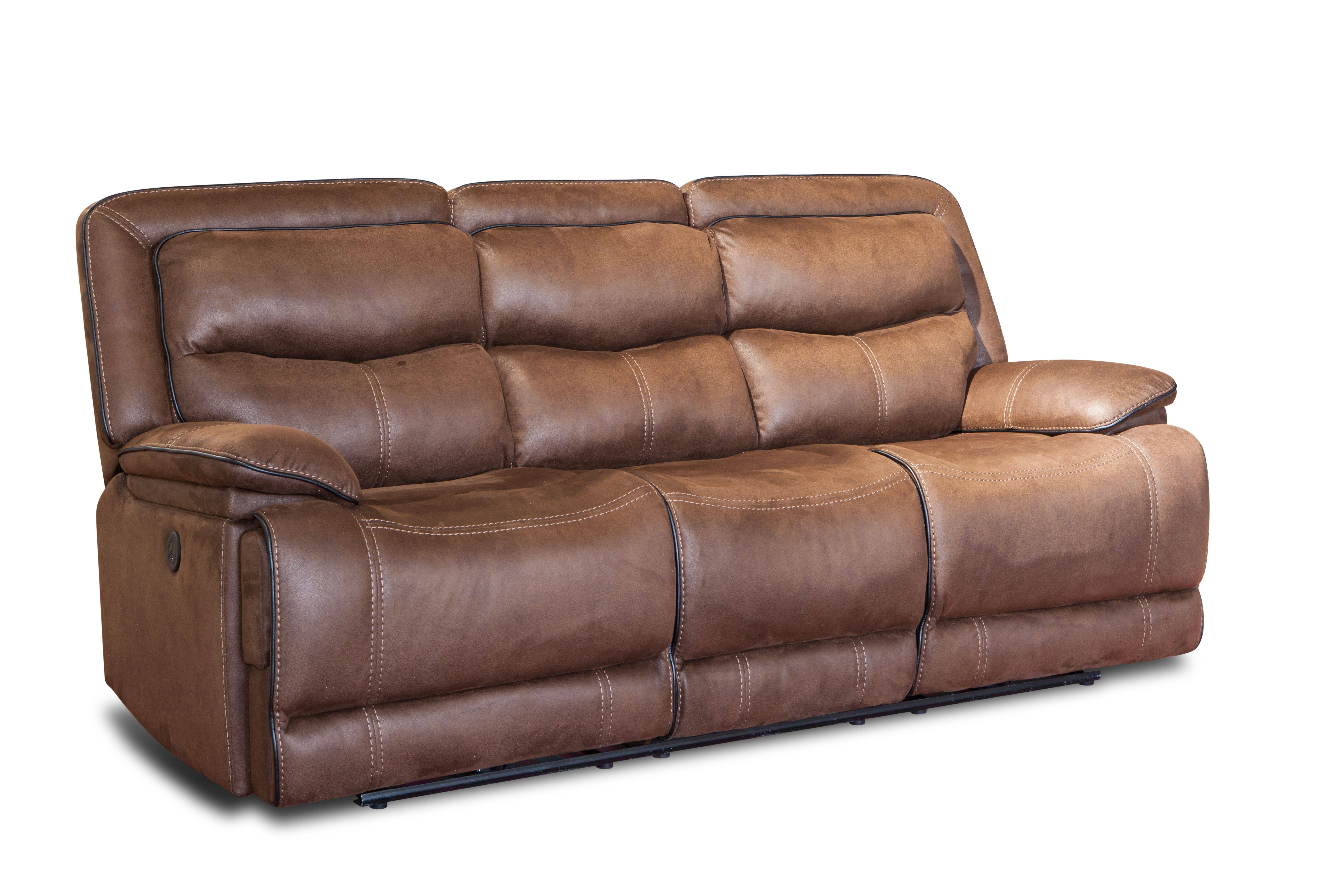 Hot sell modern fashion 4 seater sofa set leather recliner
