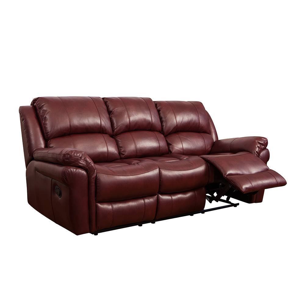 Factory wholesale Leather Rocker loveseat -