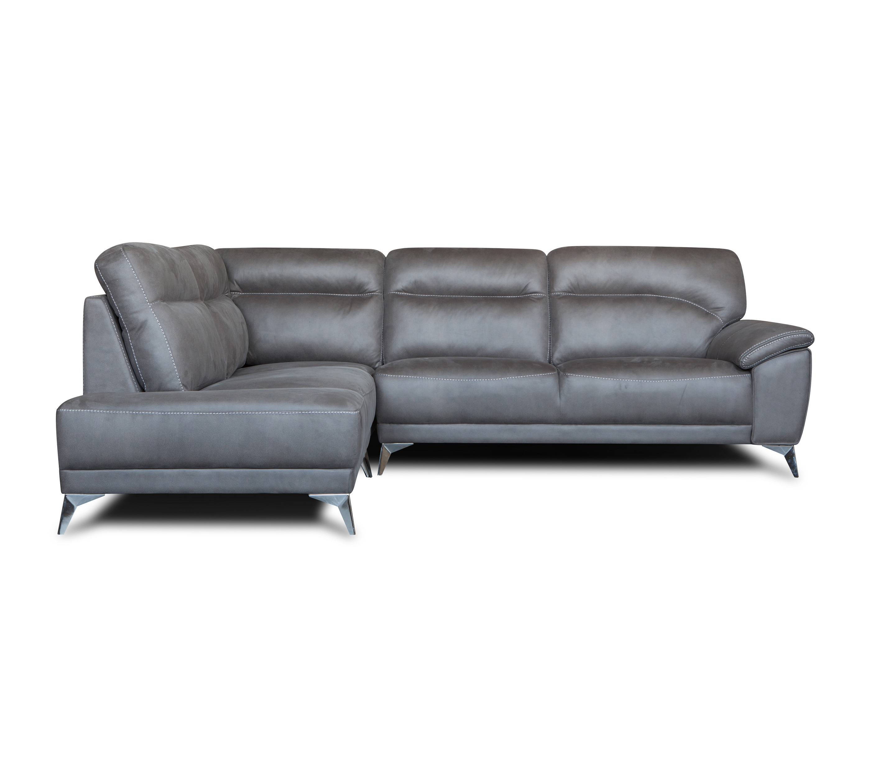 American style 3 2 1 set modern leather furniture corner sofa