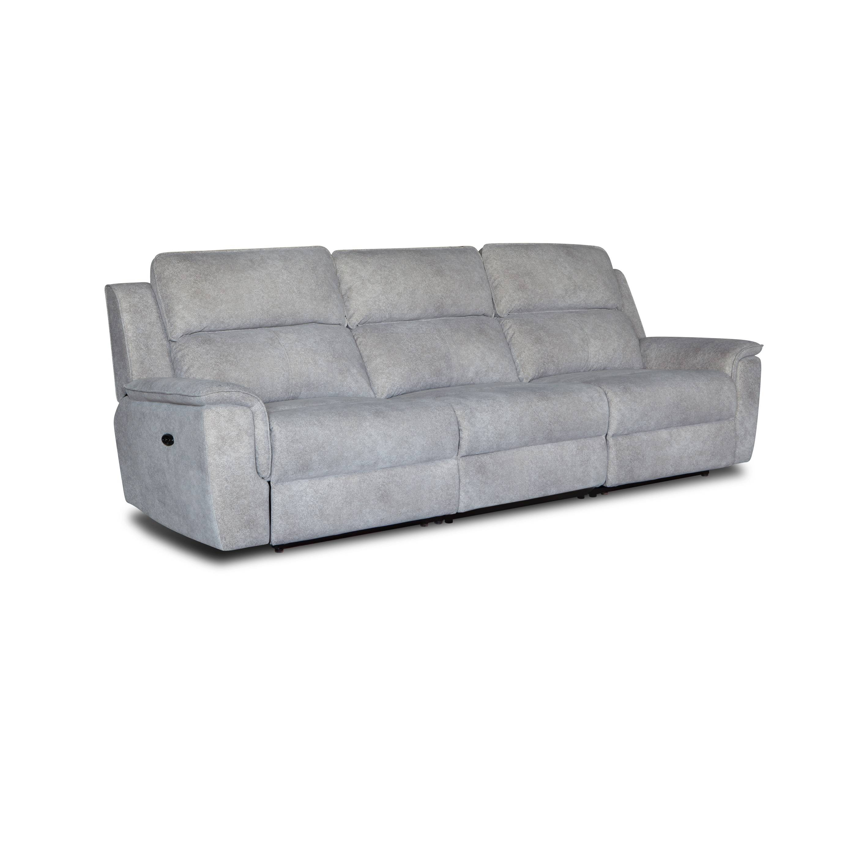 Wholesale cheap price modern fabric recliner 3 seater sofa