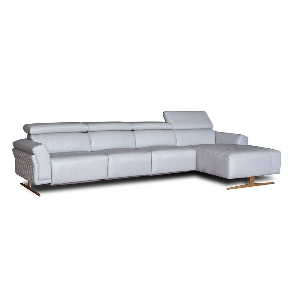 Top quality L shape living room american style couch sofa