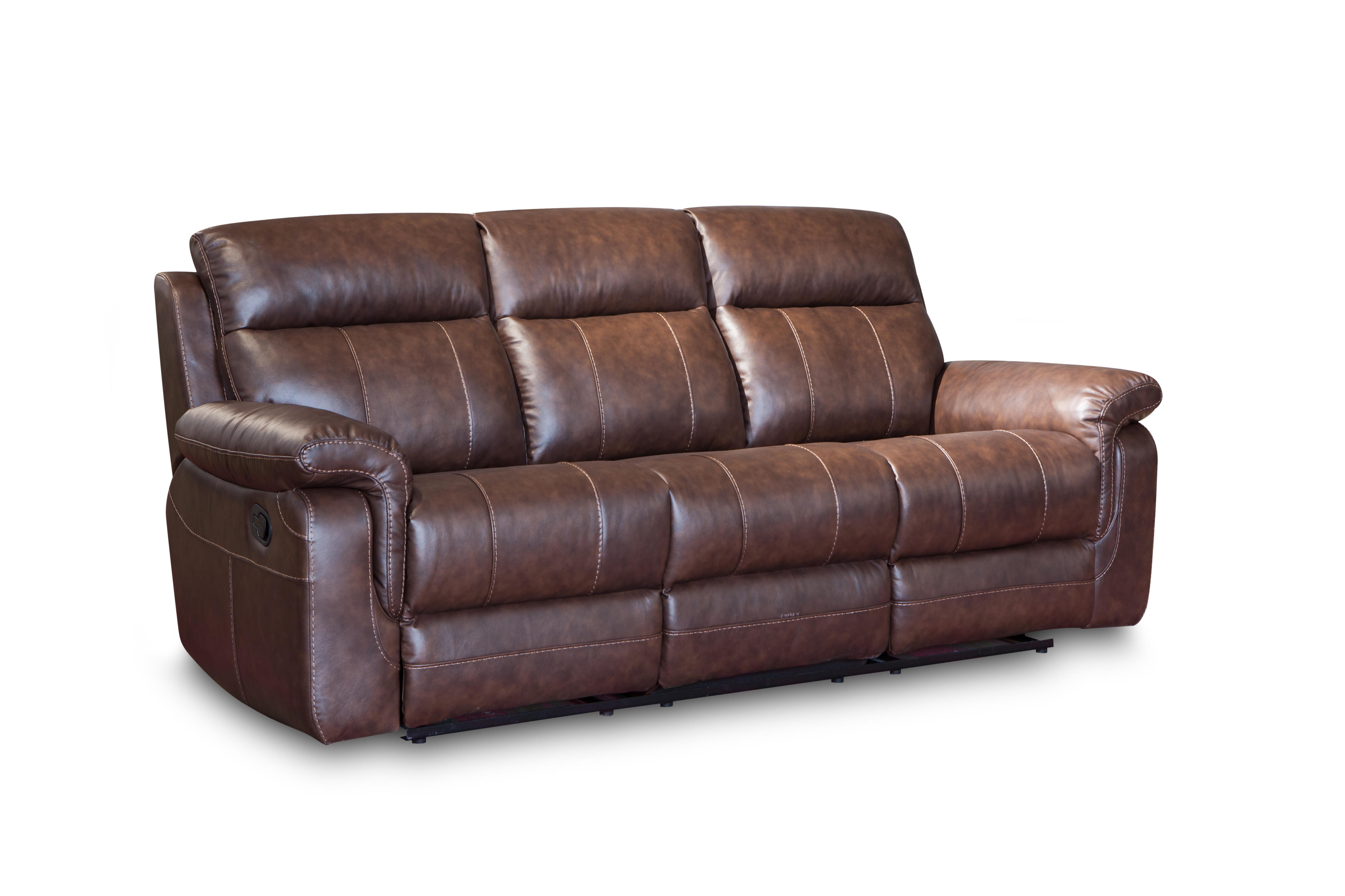China Good Quality Corner Furniture Leather Recliner Sofa