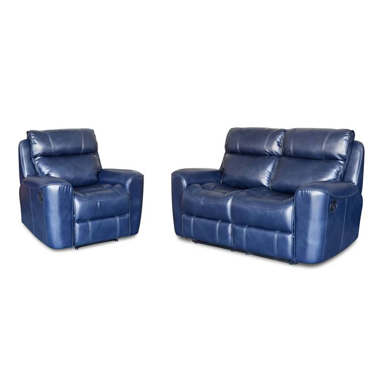 Modern furniture living room leather power american recliner sofa