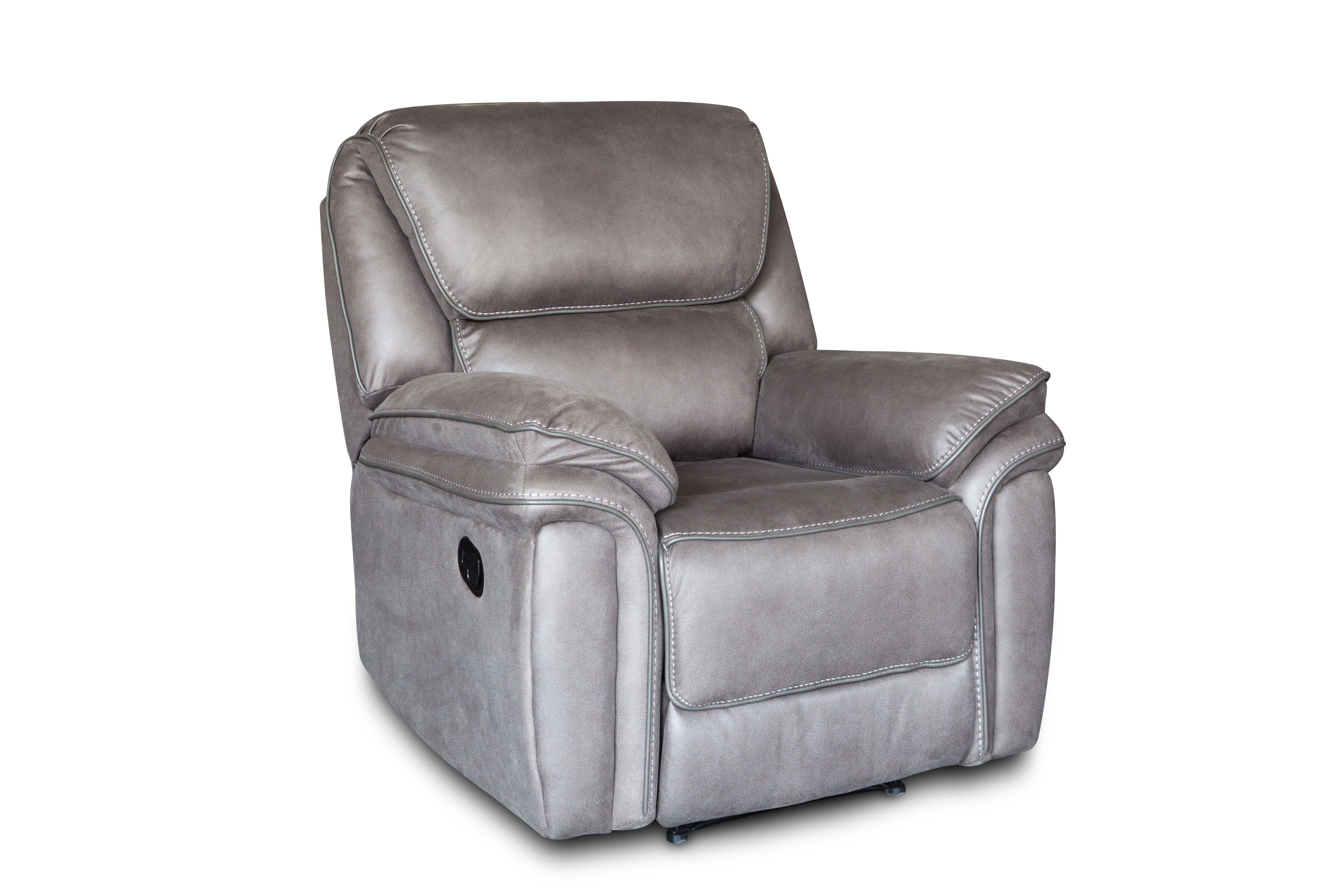 American style furniture recliner sofa genuine leather