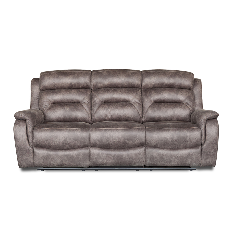 Contemporary european style relax power corner recliner sofa