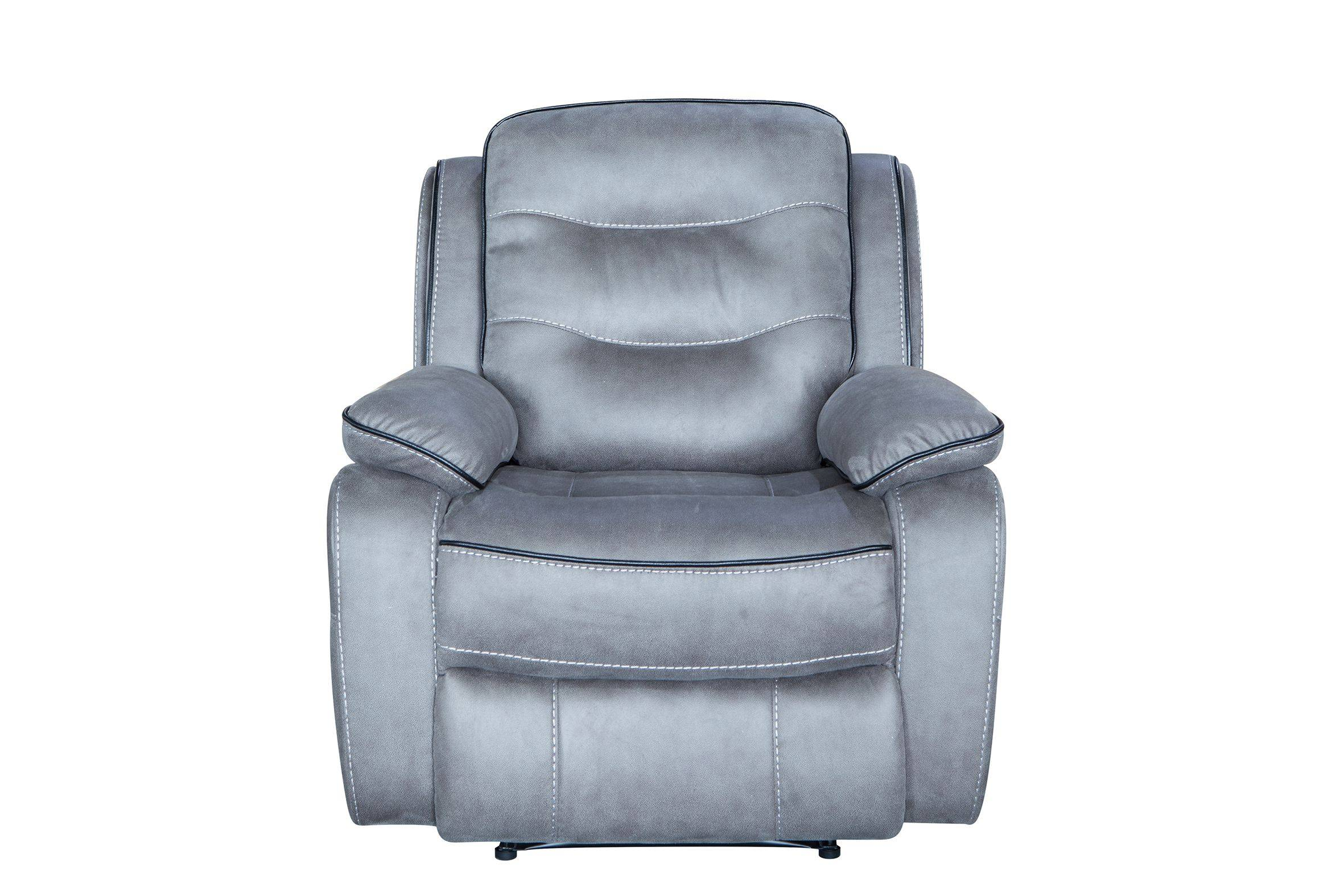 2019 High quality home furniture leather 3 seat recliner sofa
