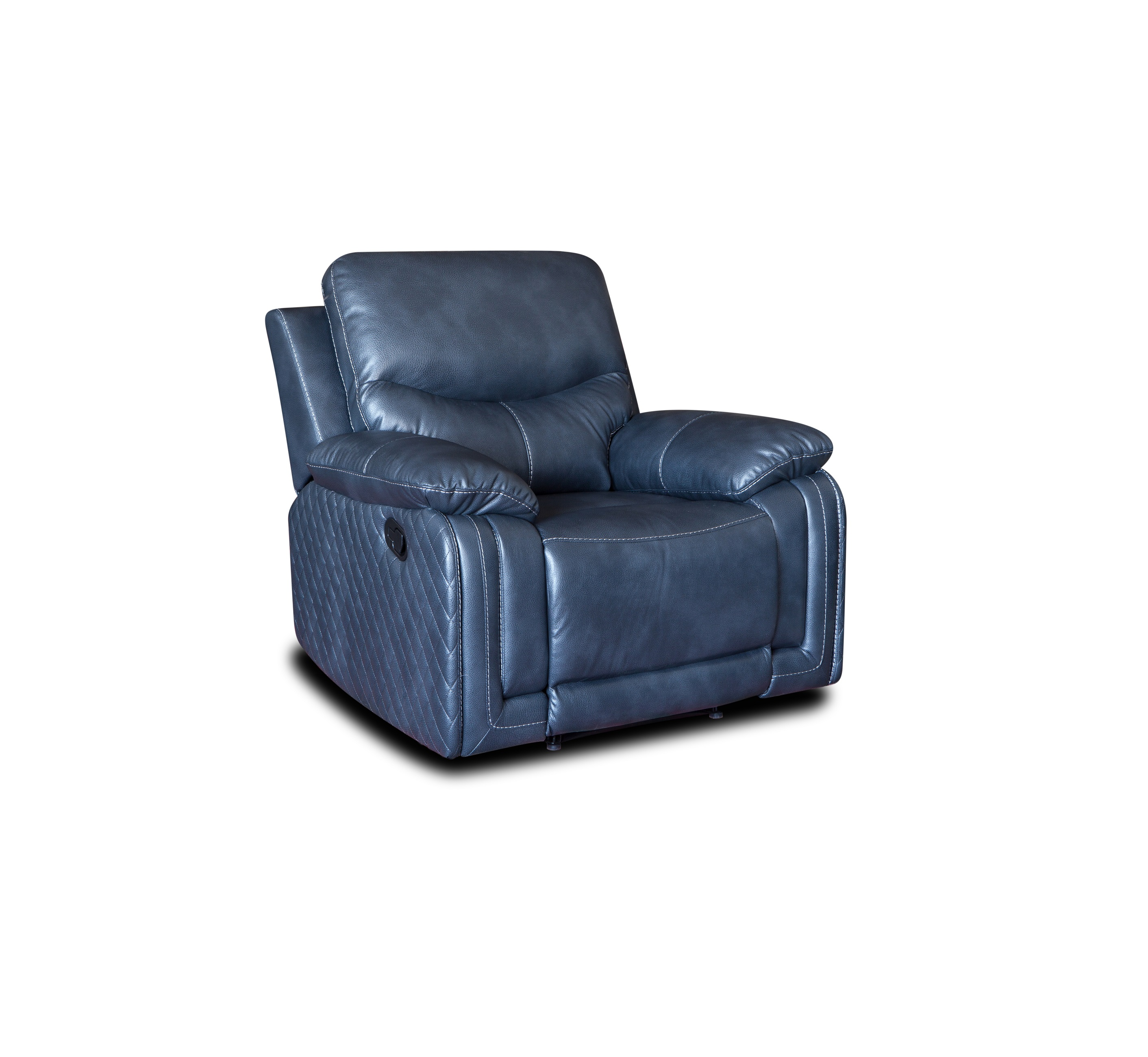 2019 modern leather one seater relax rocking chair