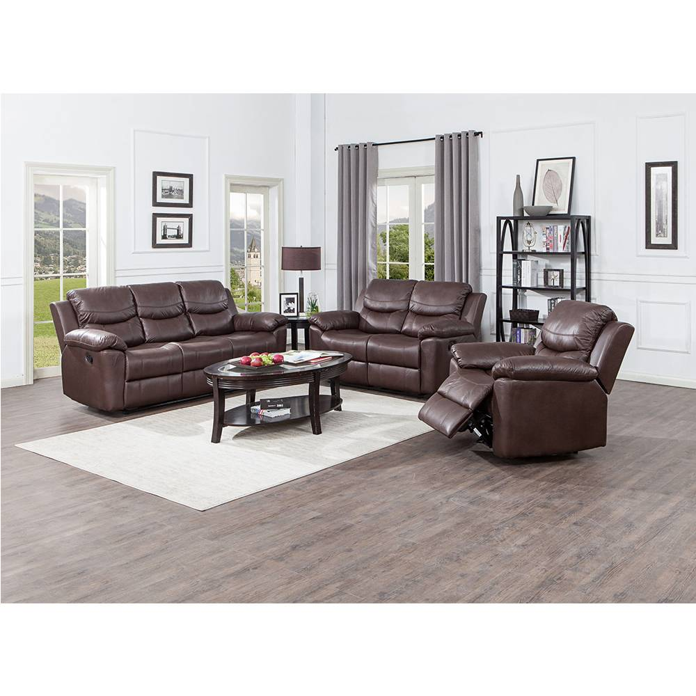Ready to ship top quality modern living room electric leather recliner sofa