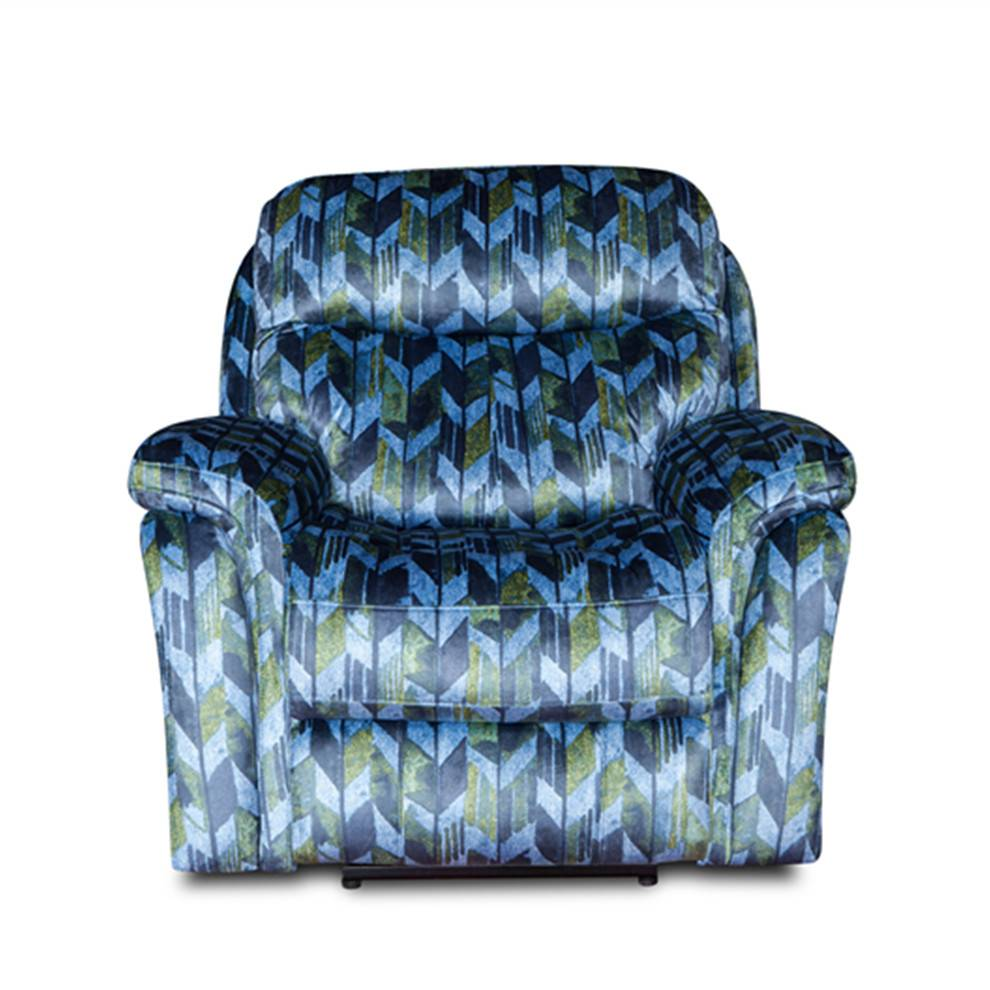 European style fabric furniture  latest living room recliner chair sofa