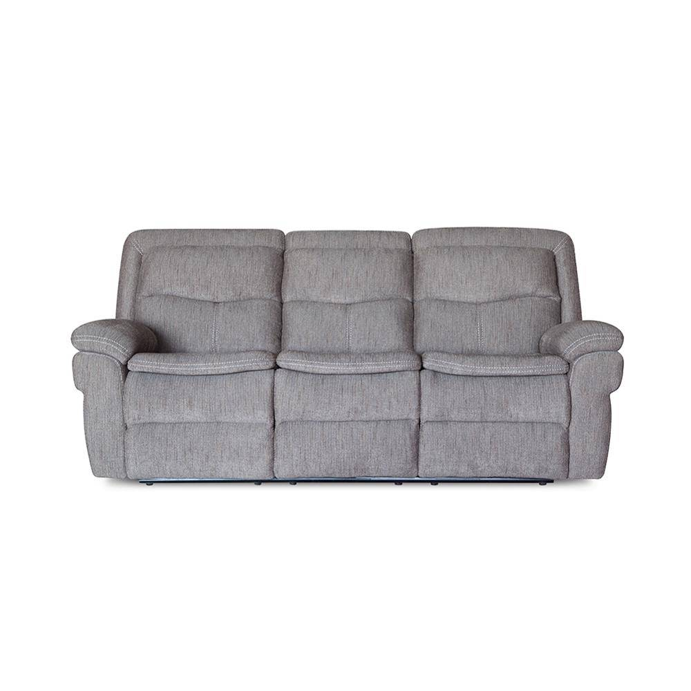 High back electric modern fabric recliner massage sofa