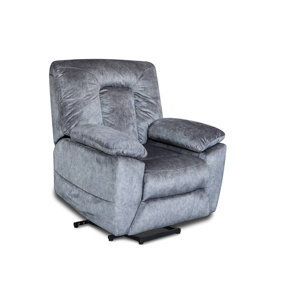 Wholesale living room furniture grey fabric recliner chair