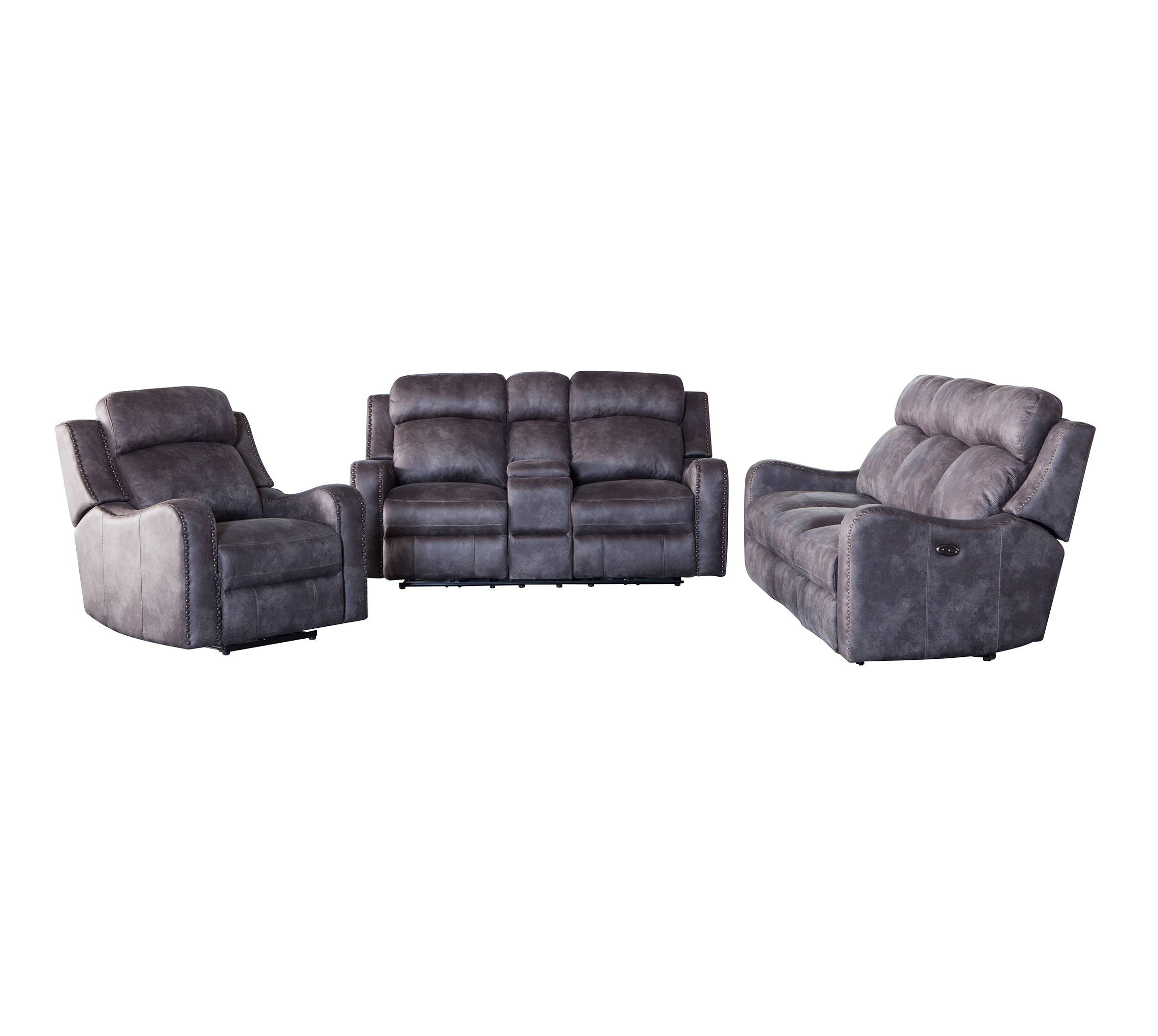 American style leather zero gravity massage 3+2+1 recliner sofa