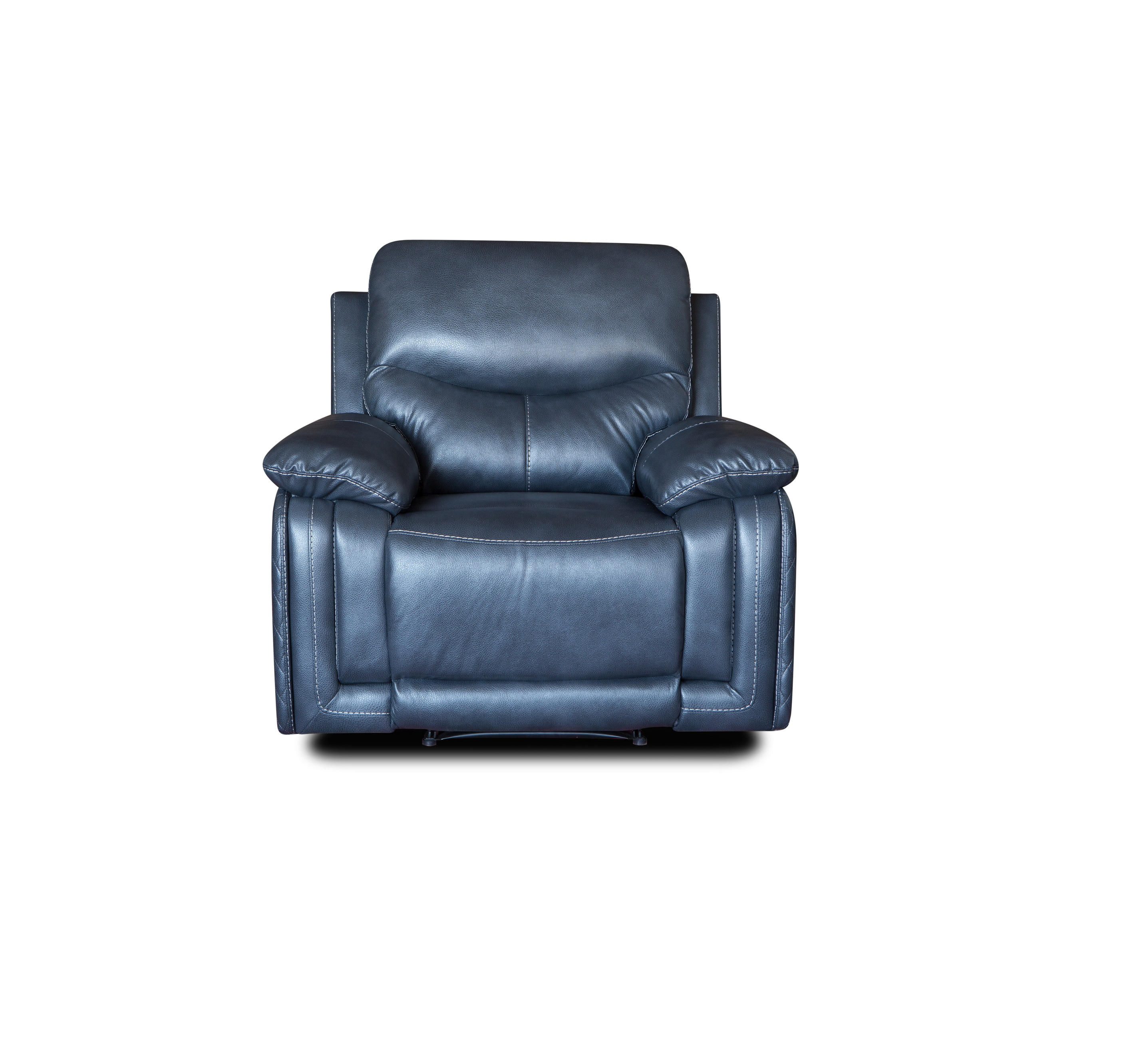 New style comfortable electric leather single recliner chair