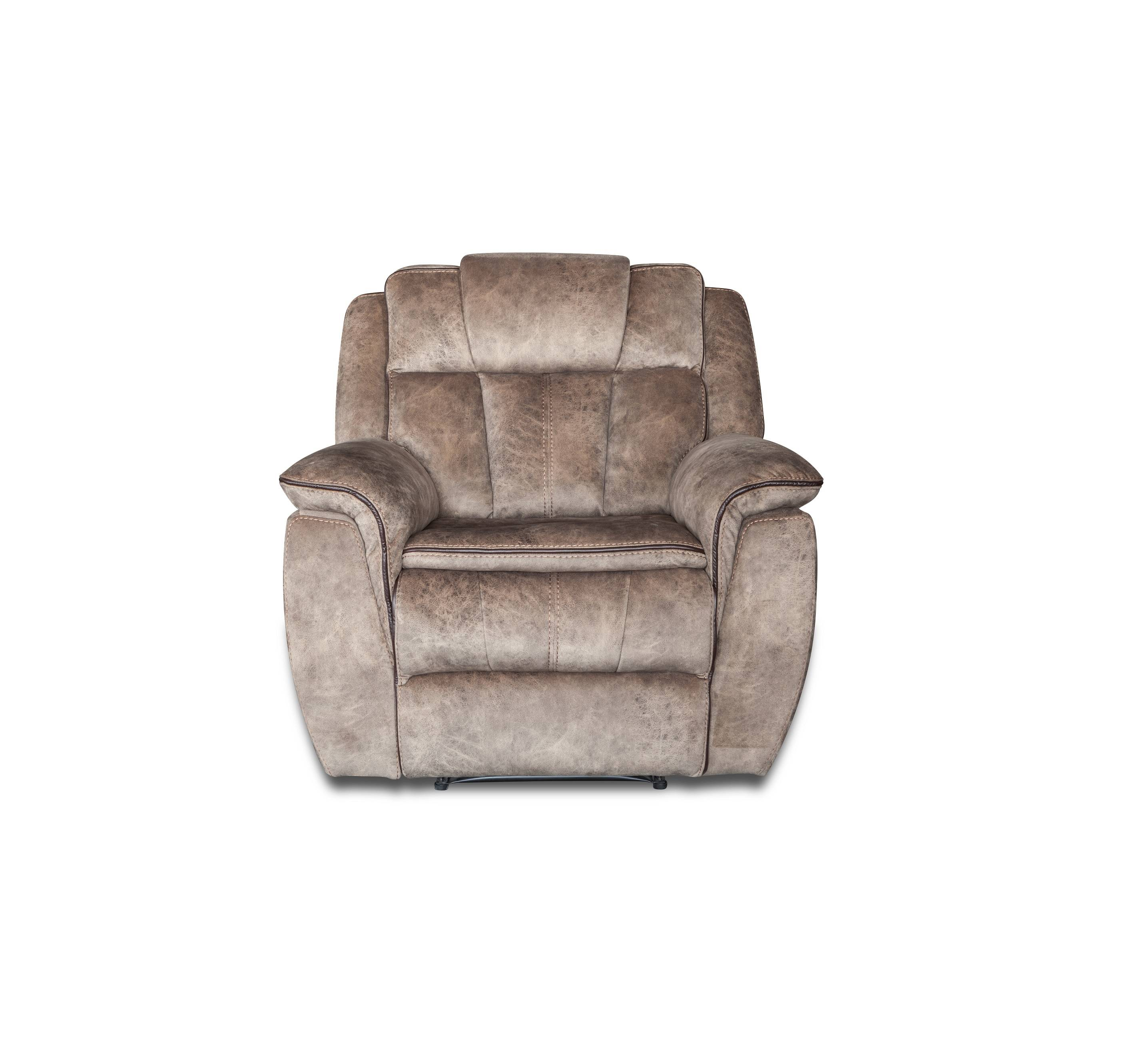 Modern living room simple style fabric recliner leisure chair sofa