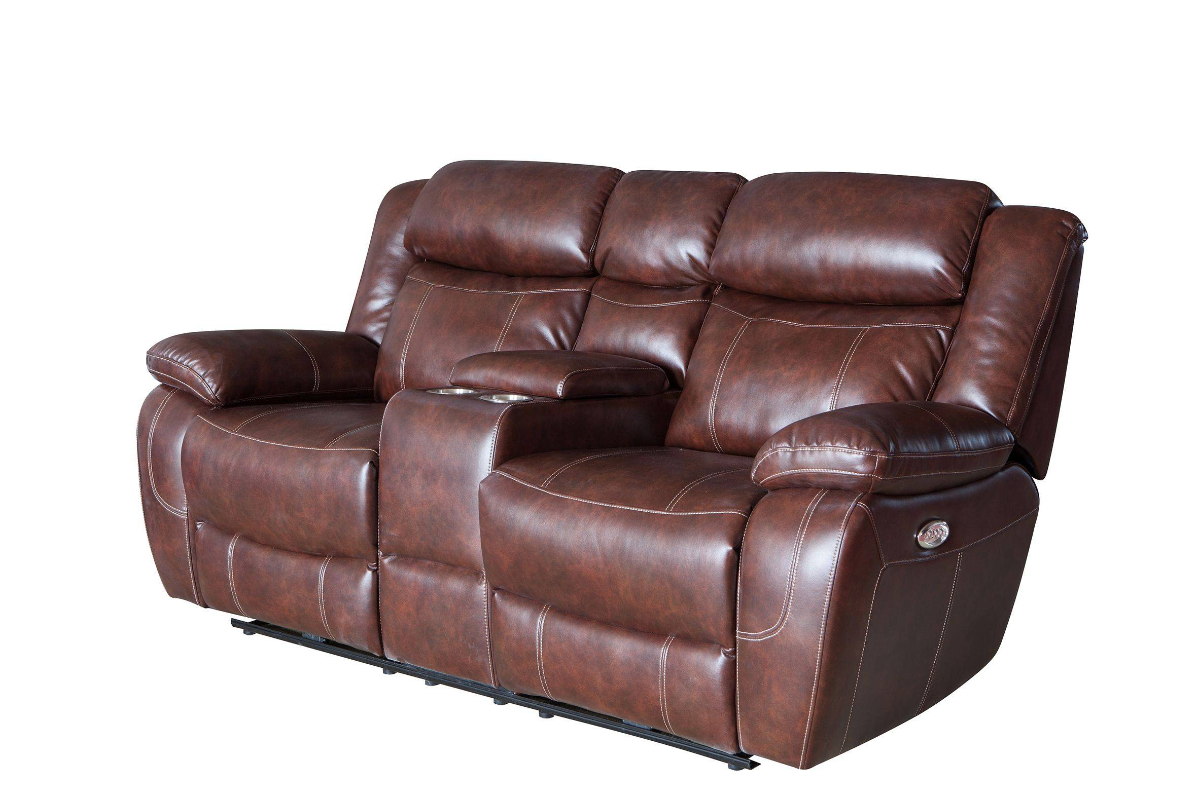 High quality and modern living room  leisure leather recliner sofa
