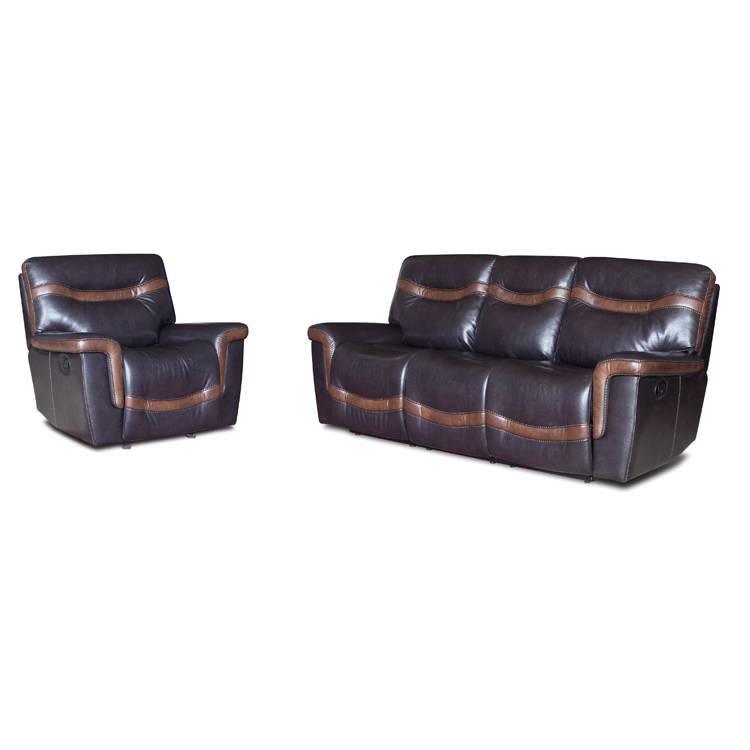 Unique design modern genuine leather single seat recliner sofa Featured Image