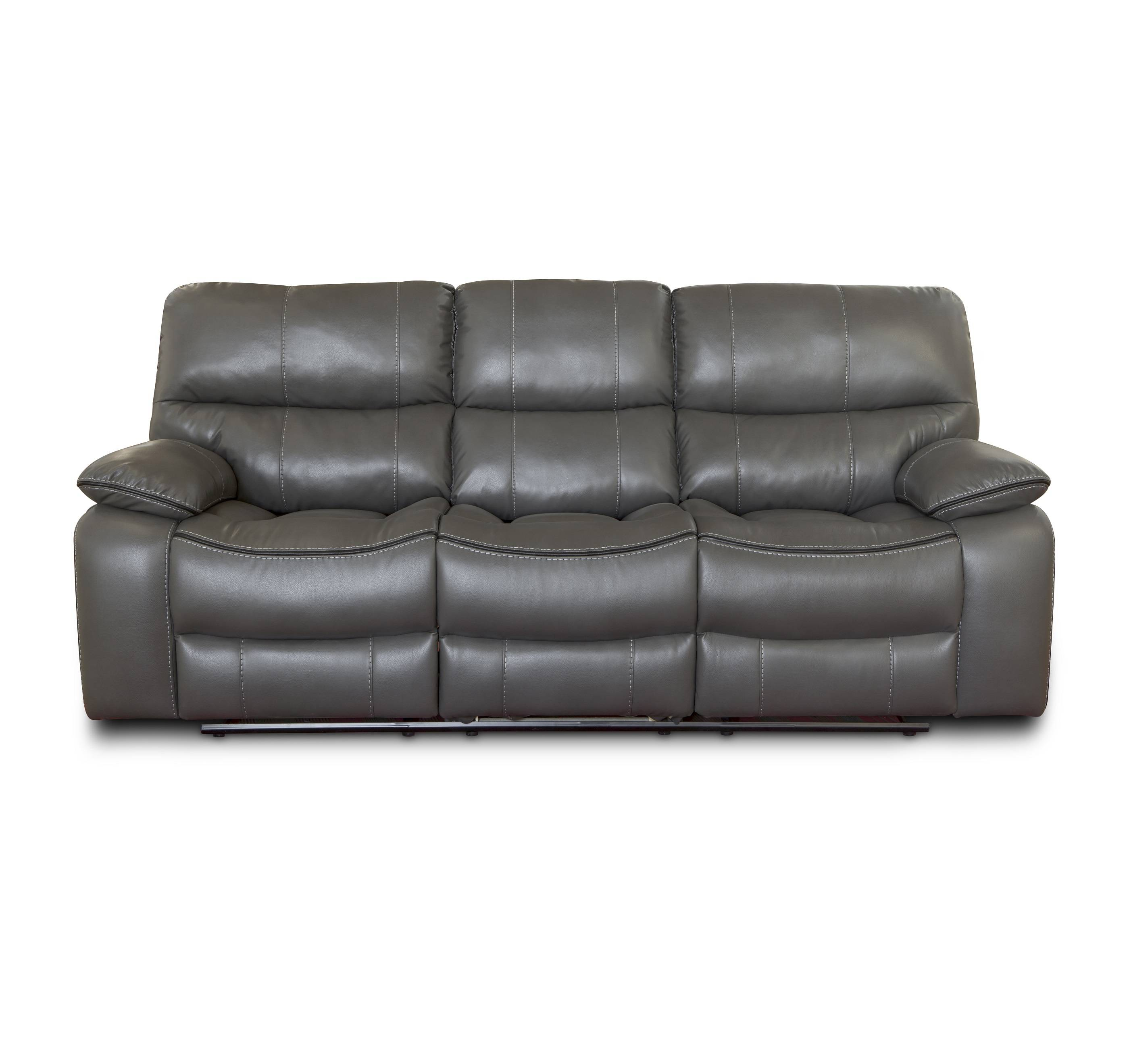 Functional high quality pu leather fancy 3 seat recliner sofa Featured Image