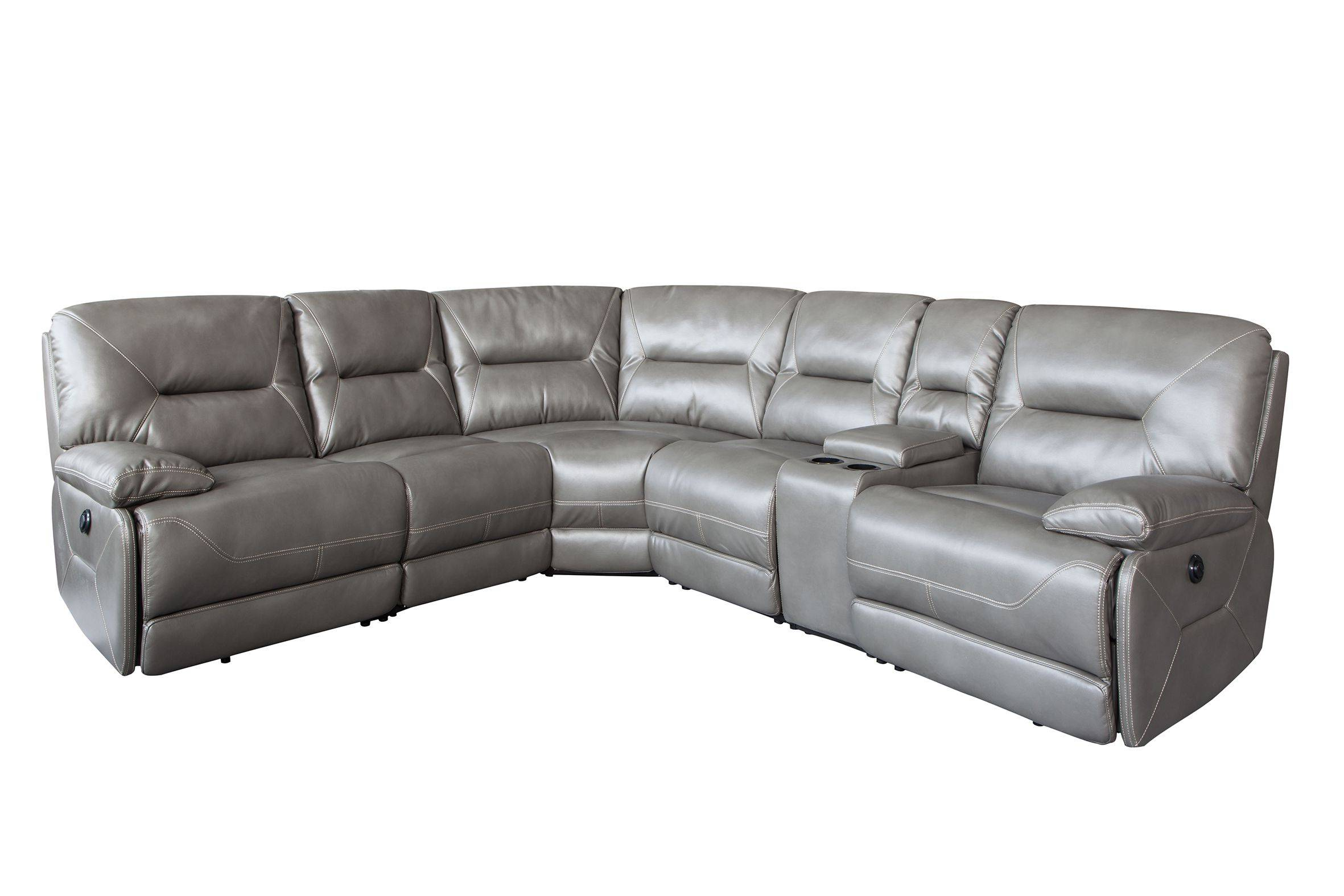 OEM manufacturer Corner Leather Power Sofa -