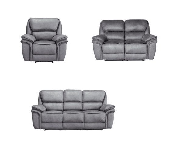 Wholesale Home Furniture Genuine Leather 1+2+3 Electric Recliner Sofa