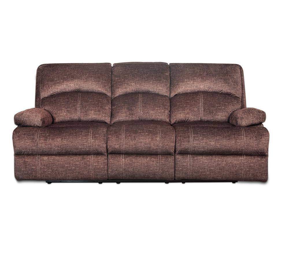 Royal home furniture luxury fabric 3+2+1 recliner sofa set