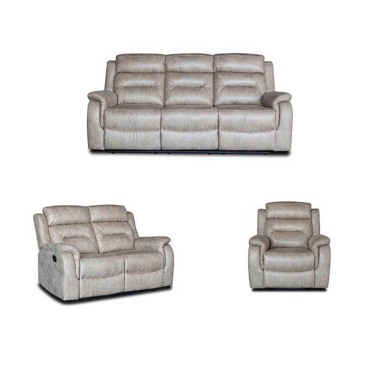 Modern comfortable european leather funiture sofa home living room