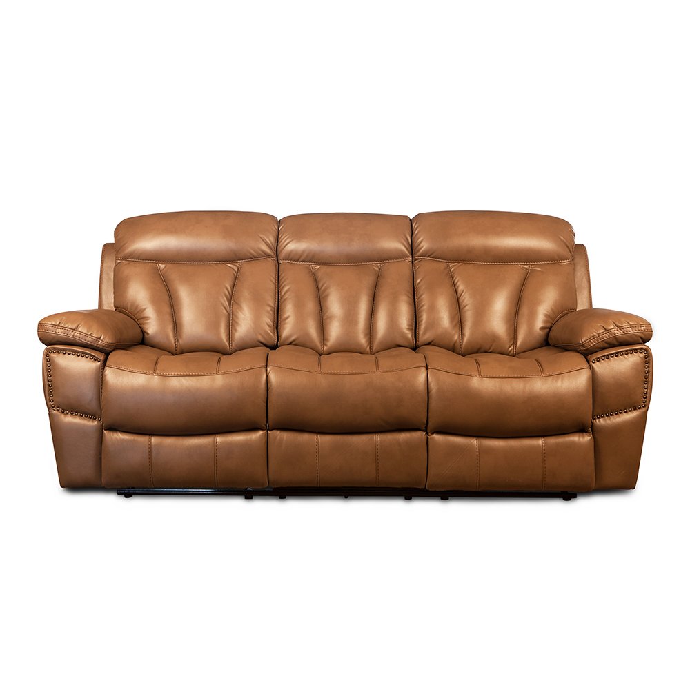 Good quality leather recliner sofa 3 2 1 modern for living room Featured Image
