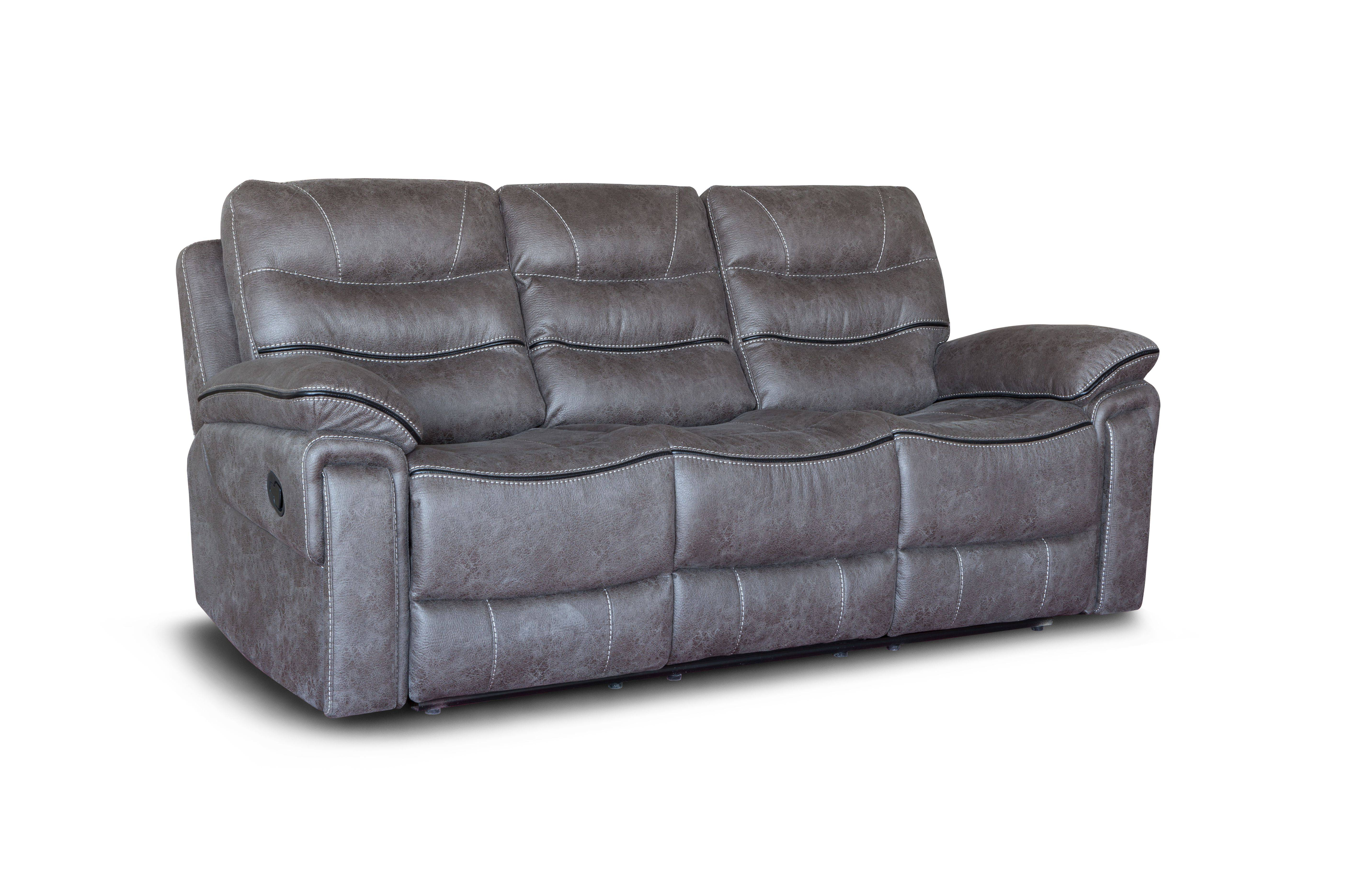Chinese factory suppler manual electric leather recliner sofa