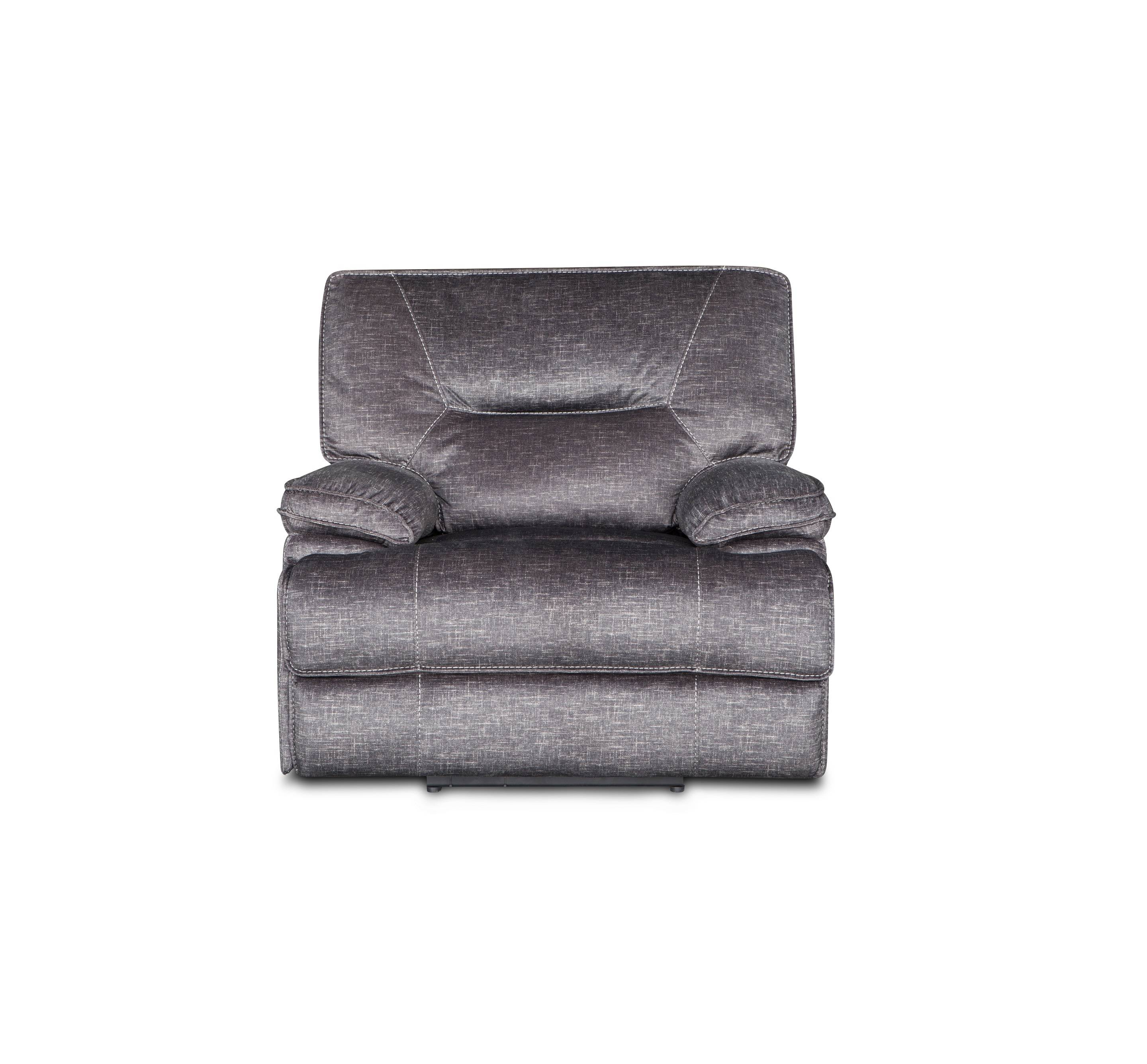 Wholesale cheap price grey fabric rocking single recliner chair