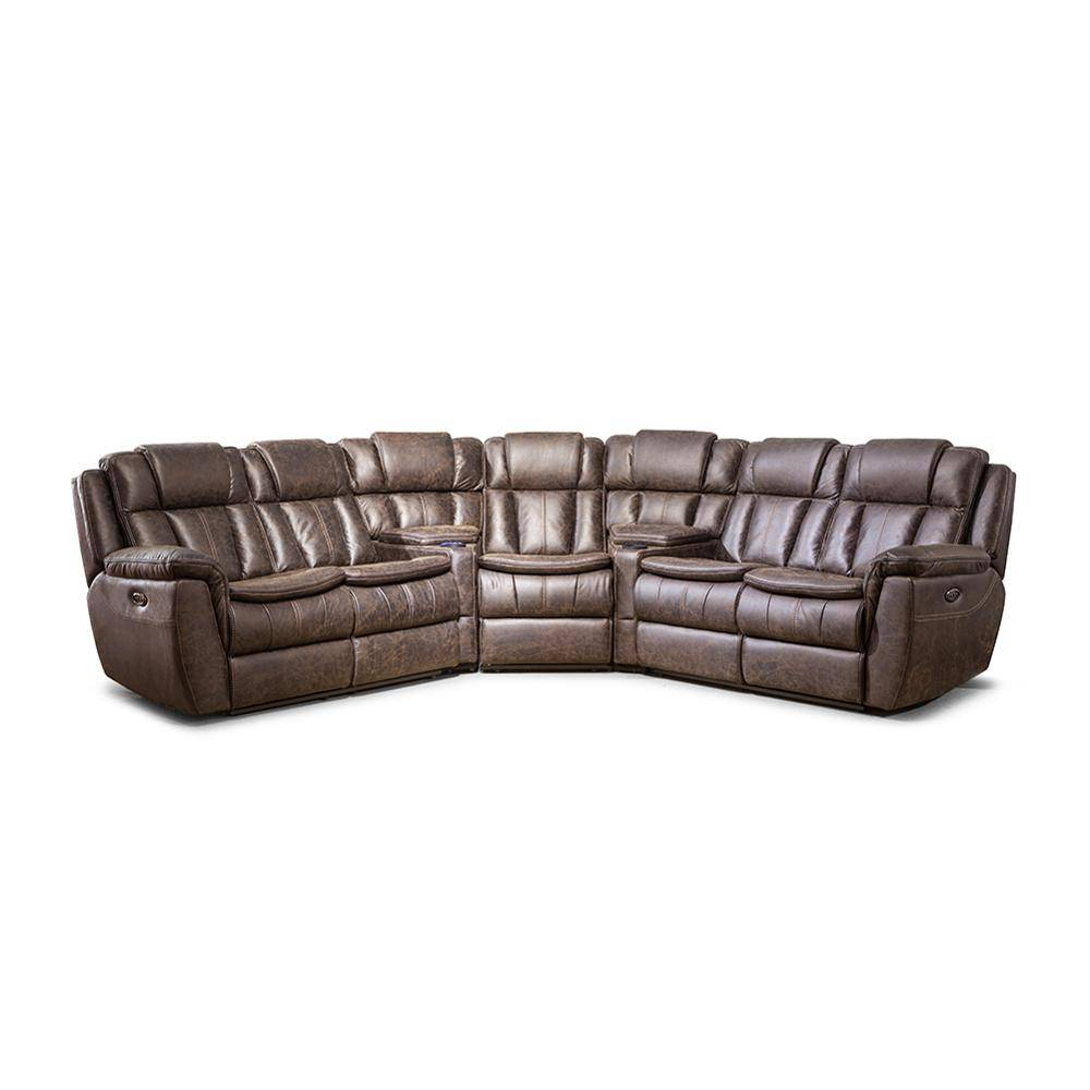 Custom massage sectional sofa living room furniture,7 seater recliner sofa