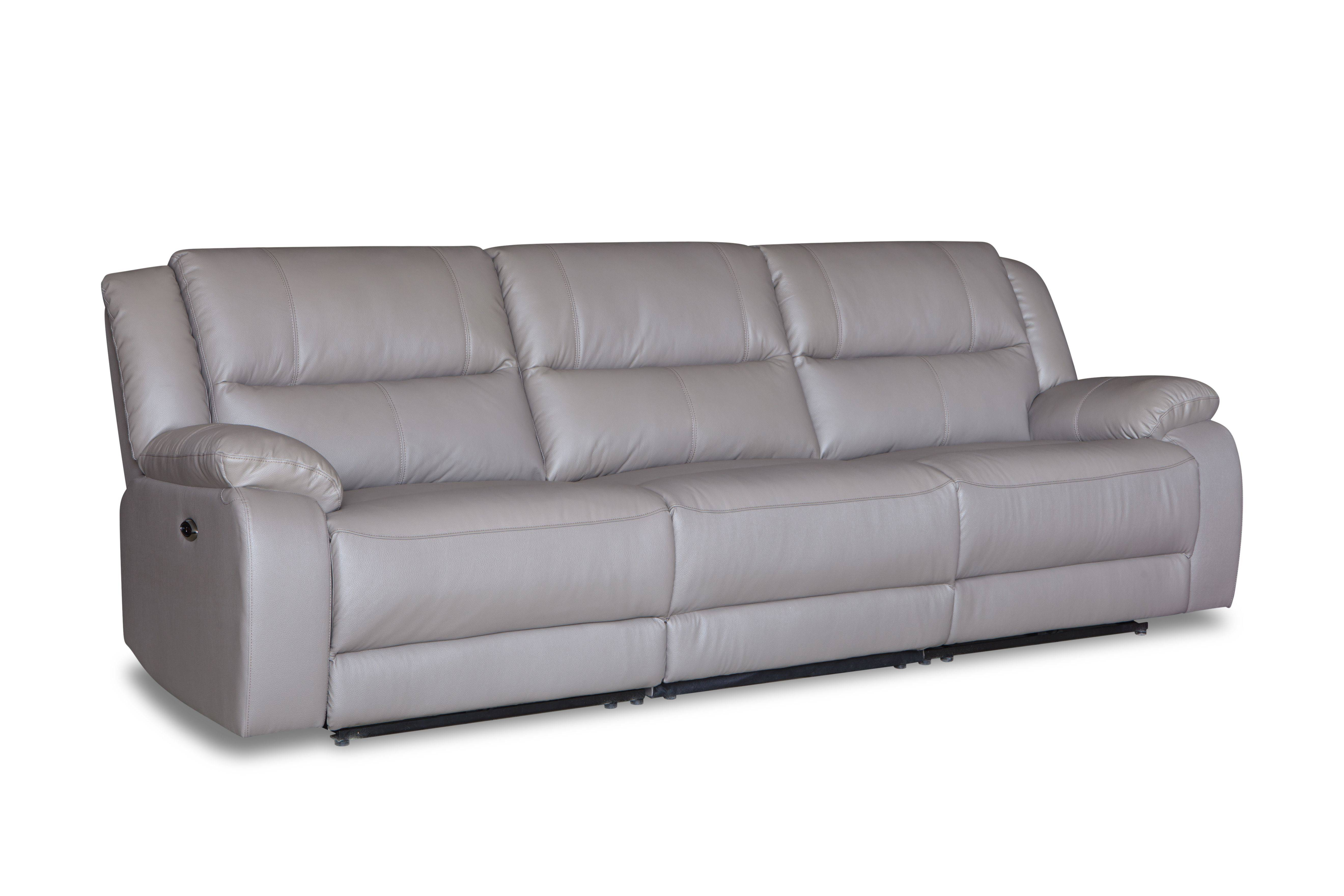 High quality luxury modern leather living room sectional sofa