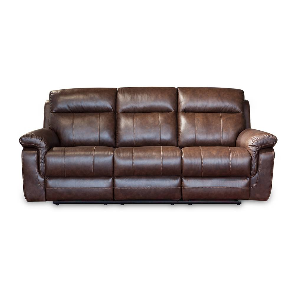 Corner Recliner Leather Sofa