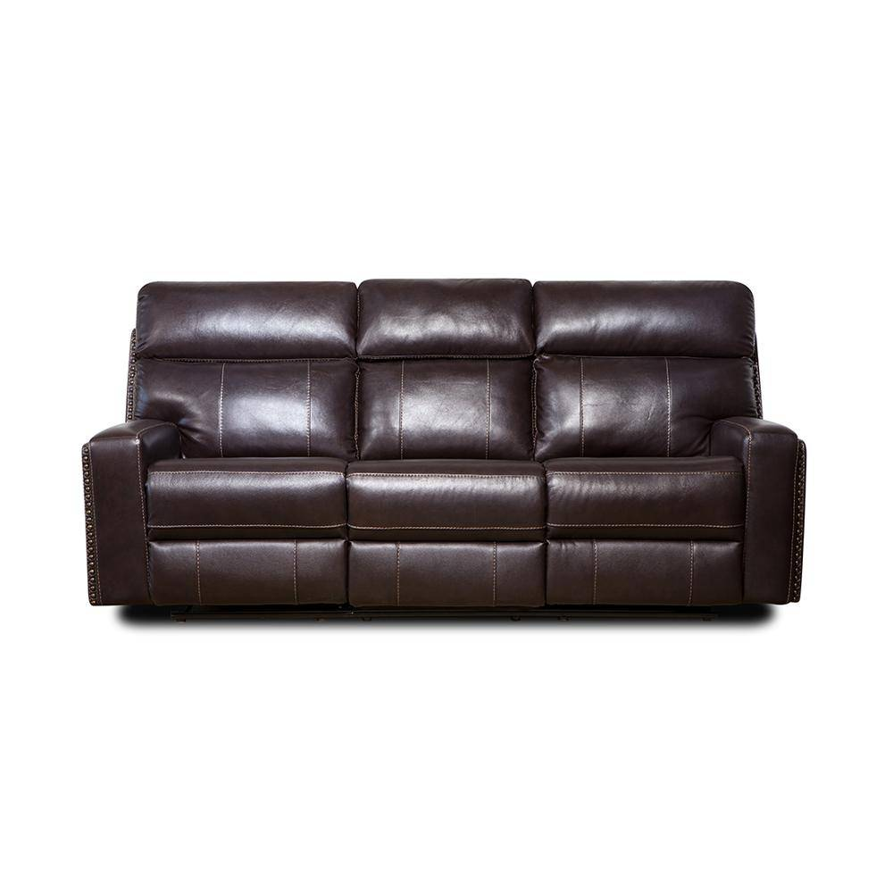 Factory directly supply Leather Corner Recliner Sectional Sofa -