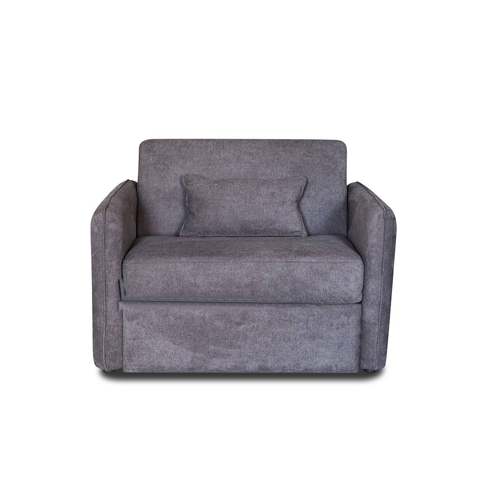 Soft Comfortable 1 seater hotel sofa fabric chair
