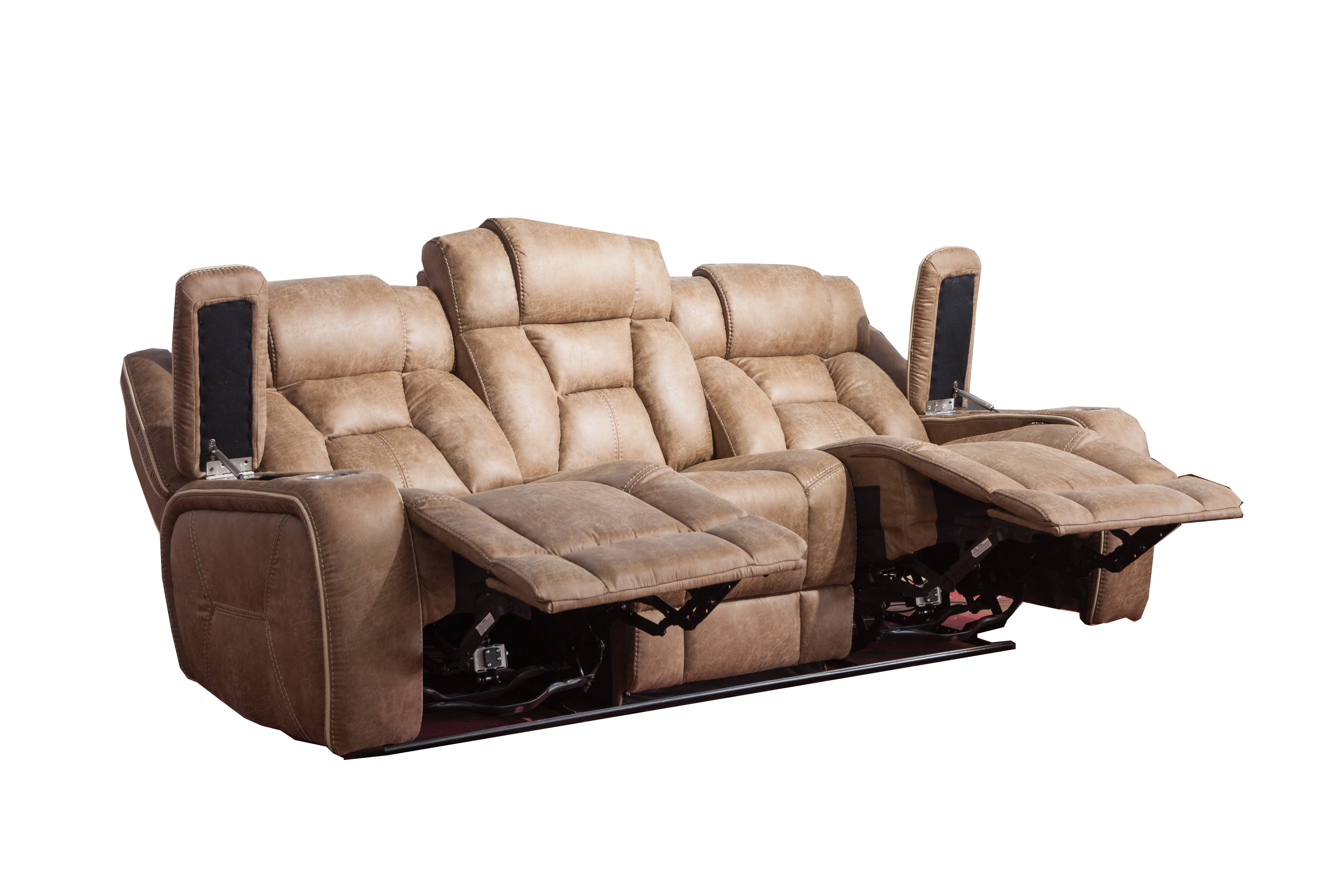 New high quality electric leather sofa,home furniture luxury sofa set