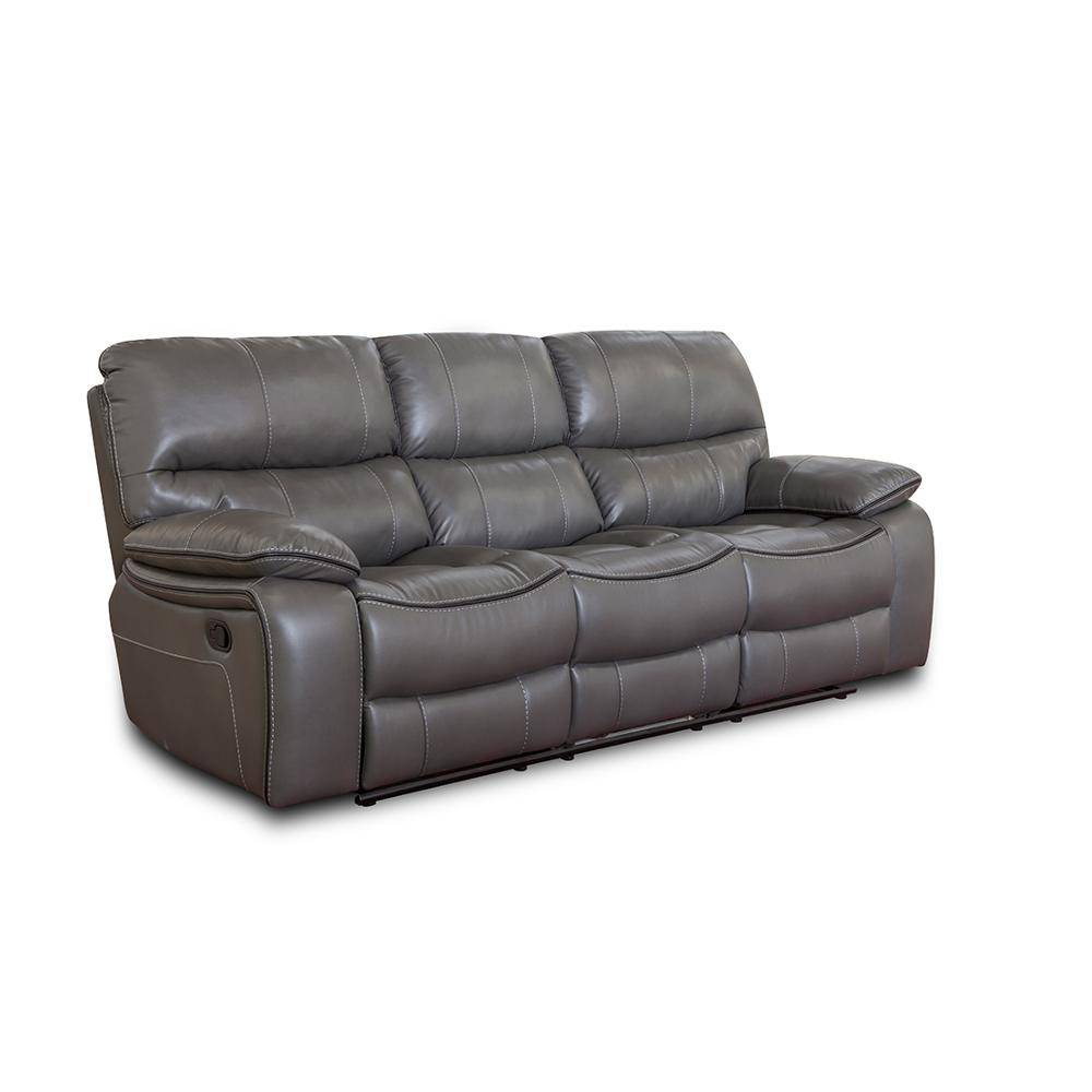New design furniture couch american leather modern recliner sofa 3 seater