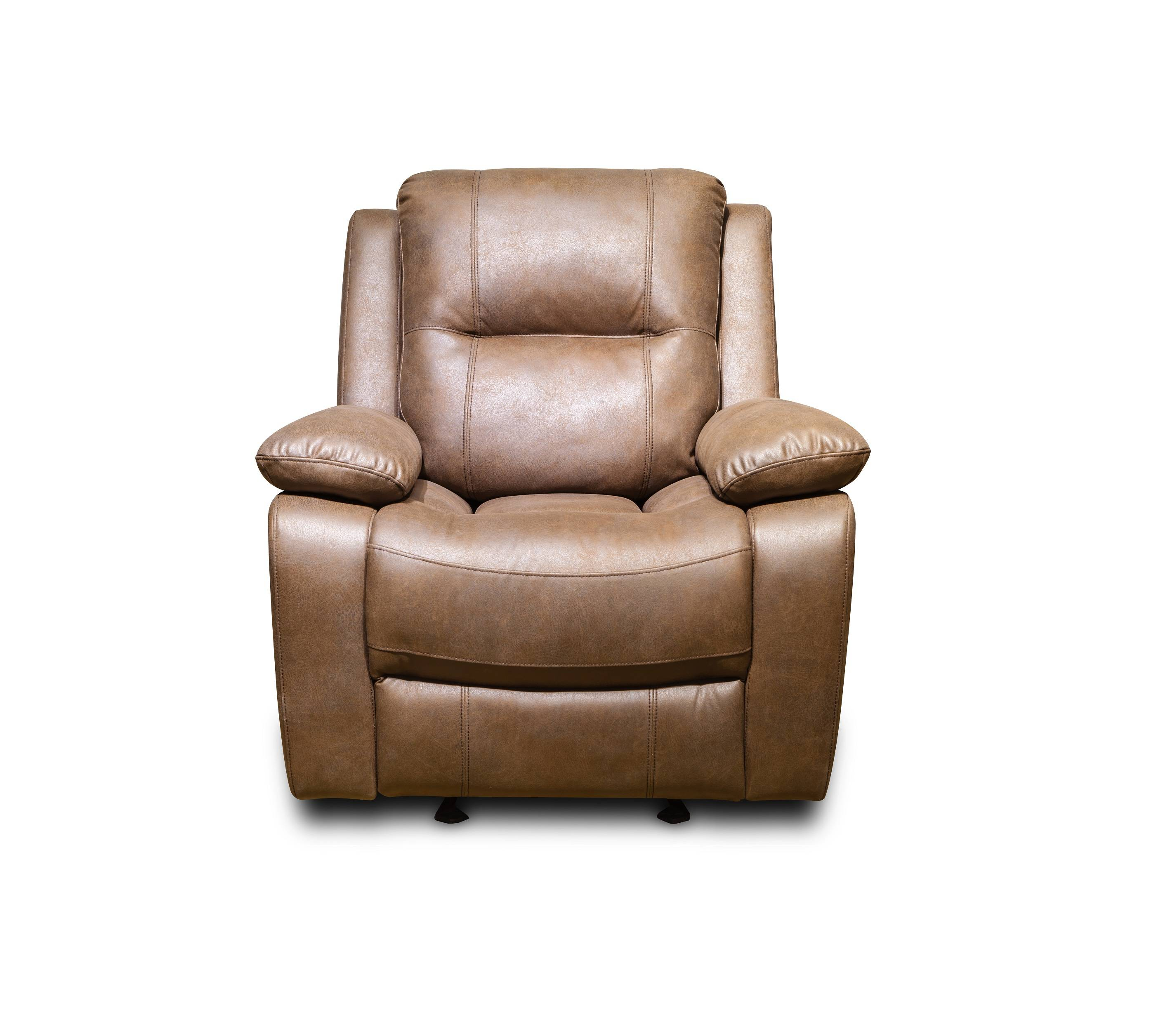 Modern comfortable high quality leather single recliner sofa chair