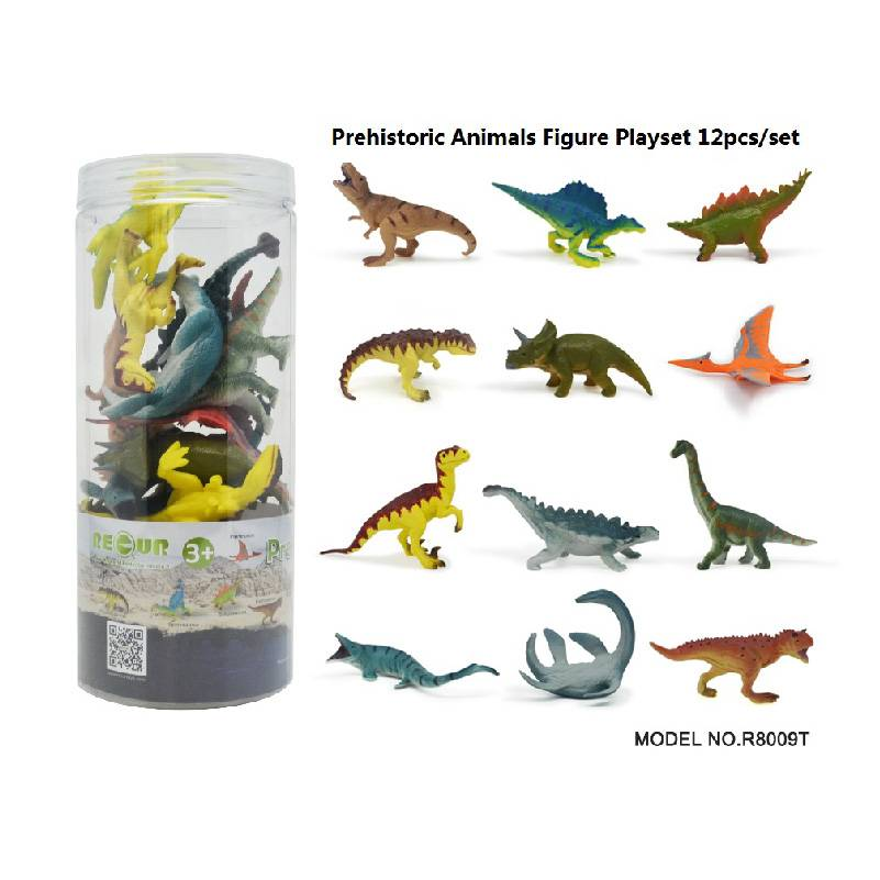 12pcs Dinosaurs Set in Tub Featured Image
