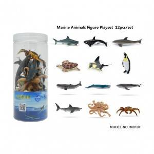12pcs Sea animal Set in tub