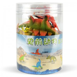 6pcs Dinosaurs Set in Tub A