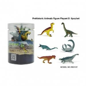 6pcs Dinosaurs Set in Tub B