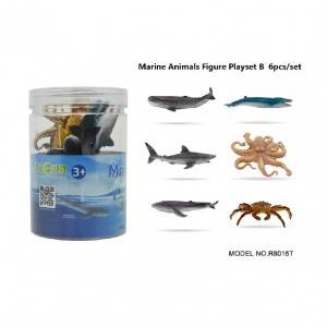 6pcs Sea animal Set in tub B