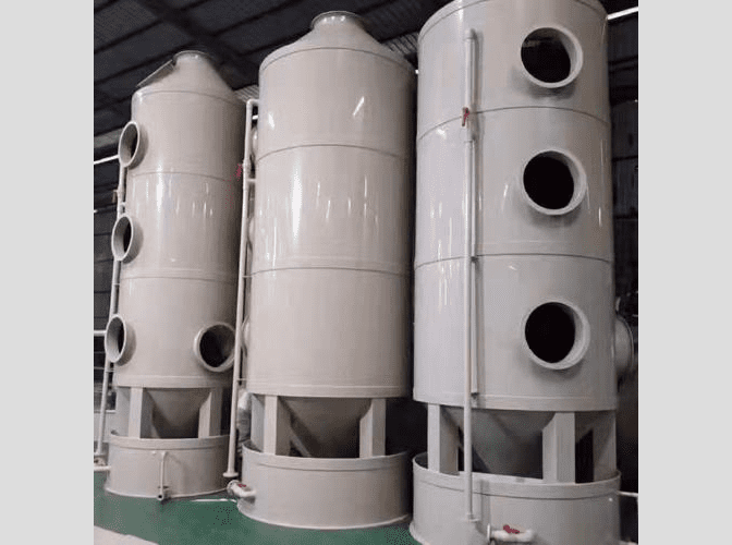 Dongguan Junxing mechanical painting waste gas treatment equipment rushed