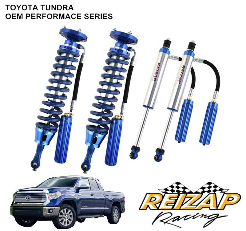Stikstof schokdemper TOENDRA 4X4 coilover suspension kit 0-50mm verhogen
