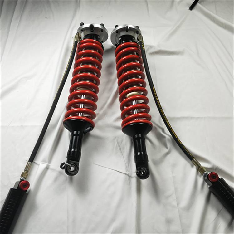 4 × 4 offroad coilover shock absorber supplier kompresiyon + hataas nga / ubos nga speed + rebound mapaigoigo suspension alang sa Nissan NP300