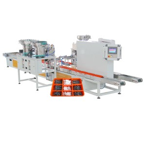 Customized Automatic sorting Plastic Box Packing Machine for Furniture Parts