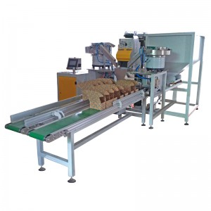 Box hardware accessories weighting packaging machine