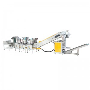 Multifunction hardware accessories counting packaging machine